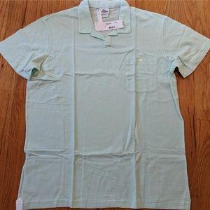 Men's Lacoste Johnny Collar Striped Polo Shirt